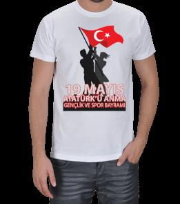 Berat Çakır - 19 MAYIS BASKILI TİŞAÖRT Erkek Tişört