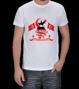 baytarınyeri - 19 Mayıs Erkek Tişört