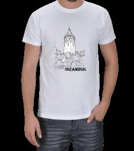Ms Art Tasarım - 34-İSTANBUL GALATA Erkek Tişört