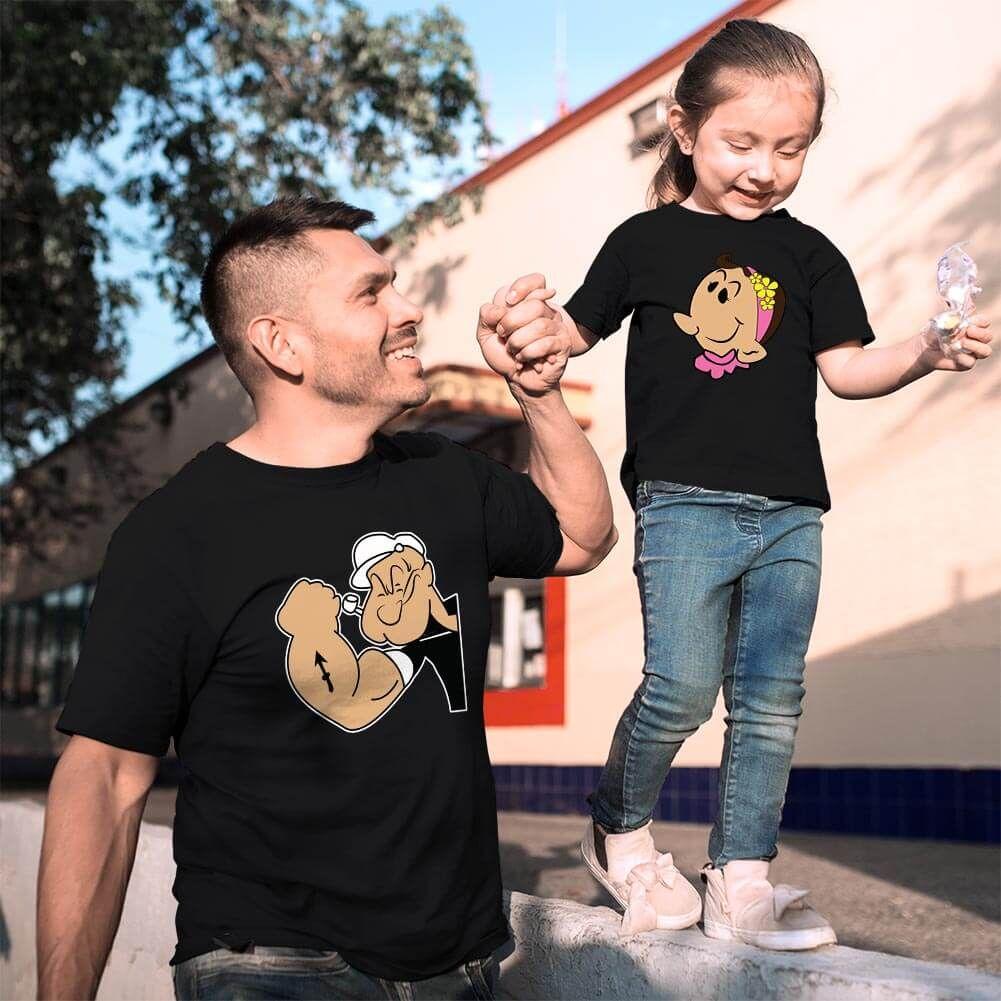 Temel Reis Baba ve Kız Çocuk Kombini (1)