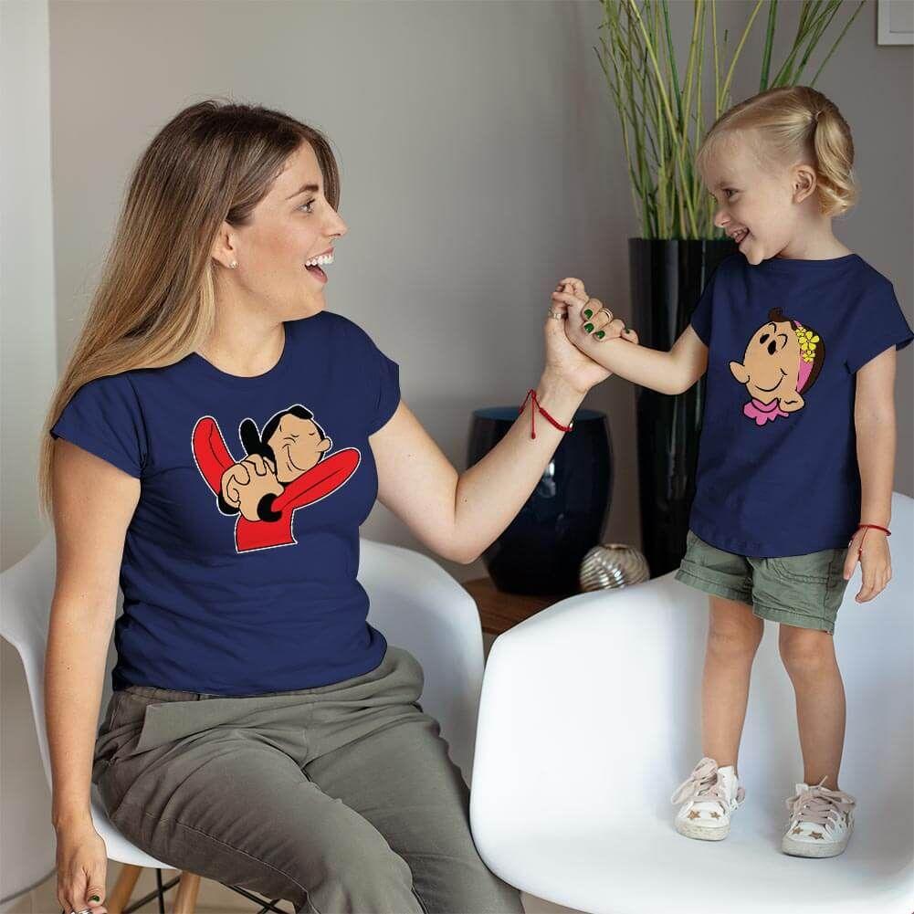 Safinaz Anne ve Kız Çocuk Kombini