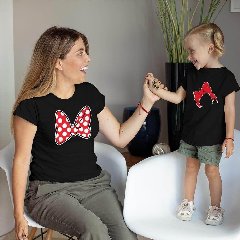 Disney Temalı Anne ve Kız Çocuk Kombini (1)