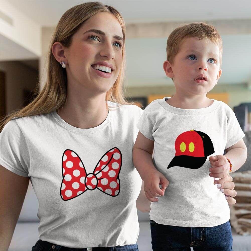 Disney Temalı Anne ve Erkek Çocuk Kombini (1)
