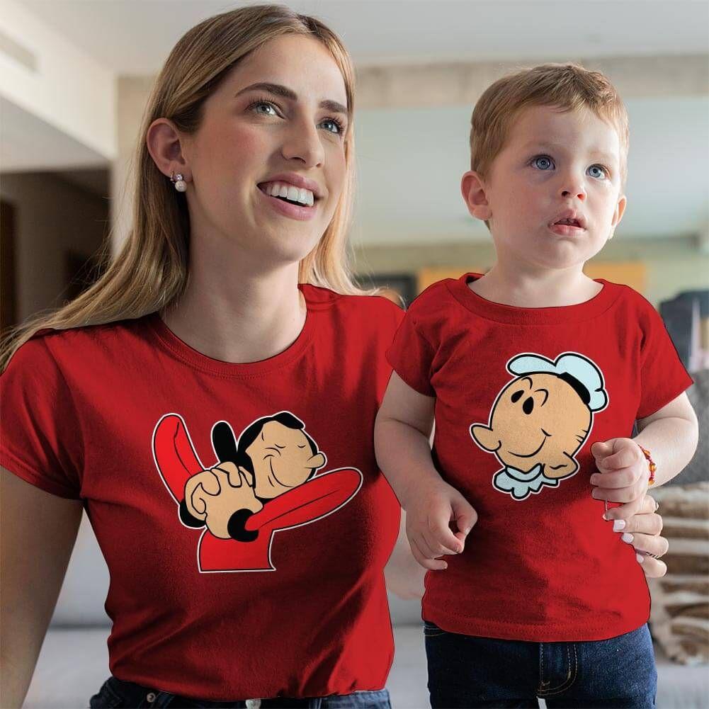 Safinaz Anne ve Erkek Çocuk Kombini