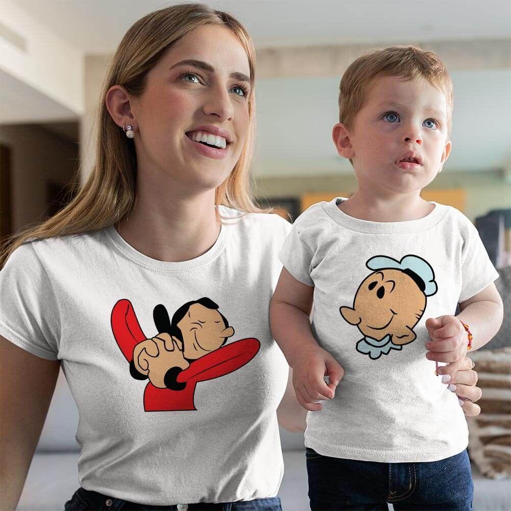 Safinaz Anne ve Erkek Çocuk Kombini (1)