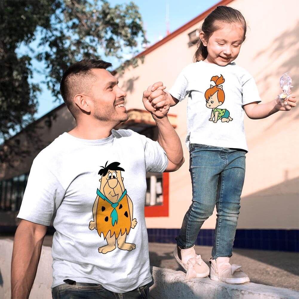 Çakmaktaş Ailesi Baba Kız Çocuk Kombini (1)