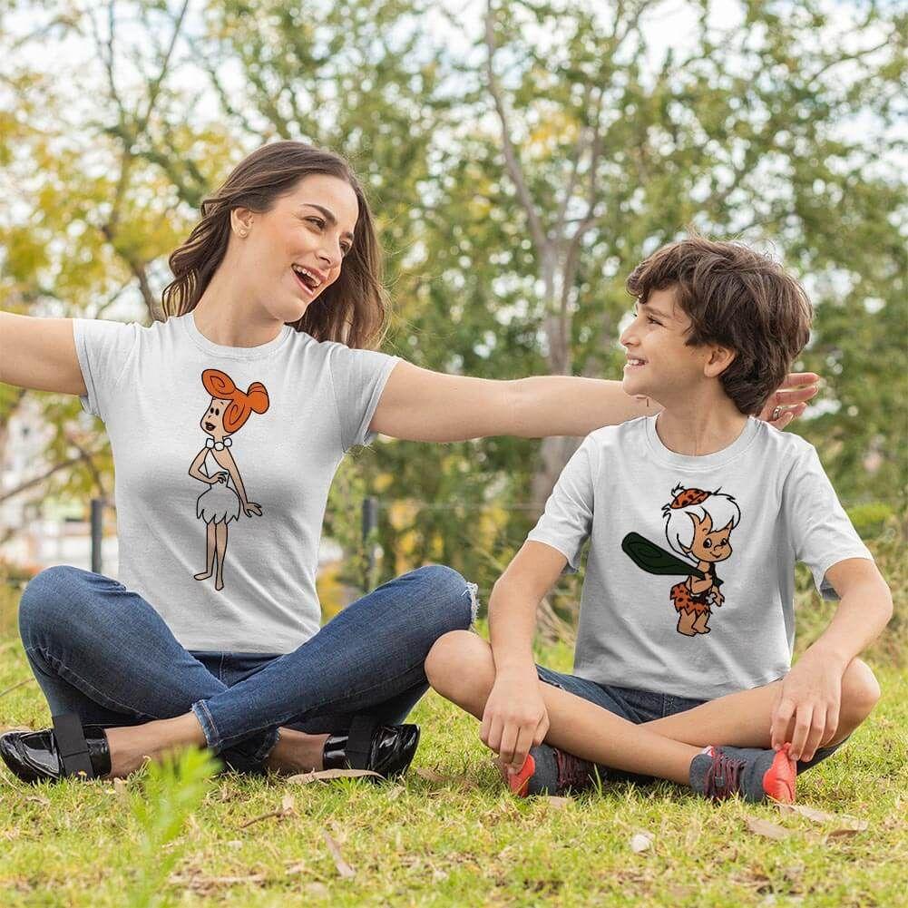 Çakmaktaş Ailesi Anne Erkek Çocuk Kombini (1)