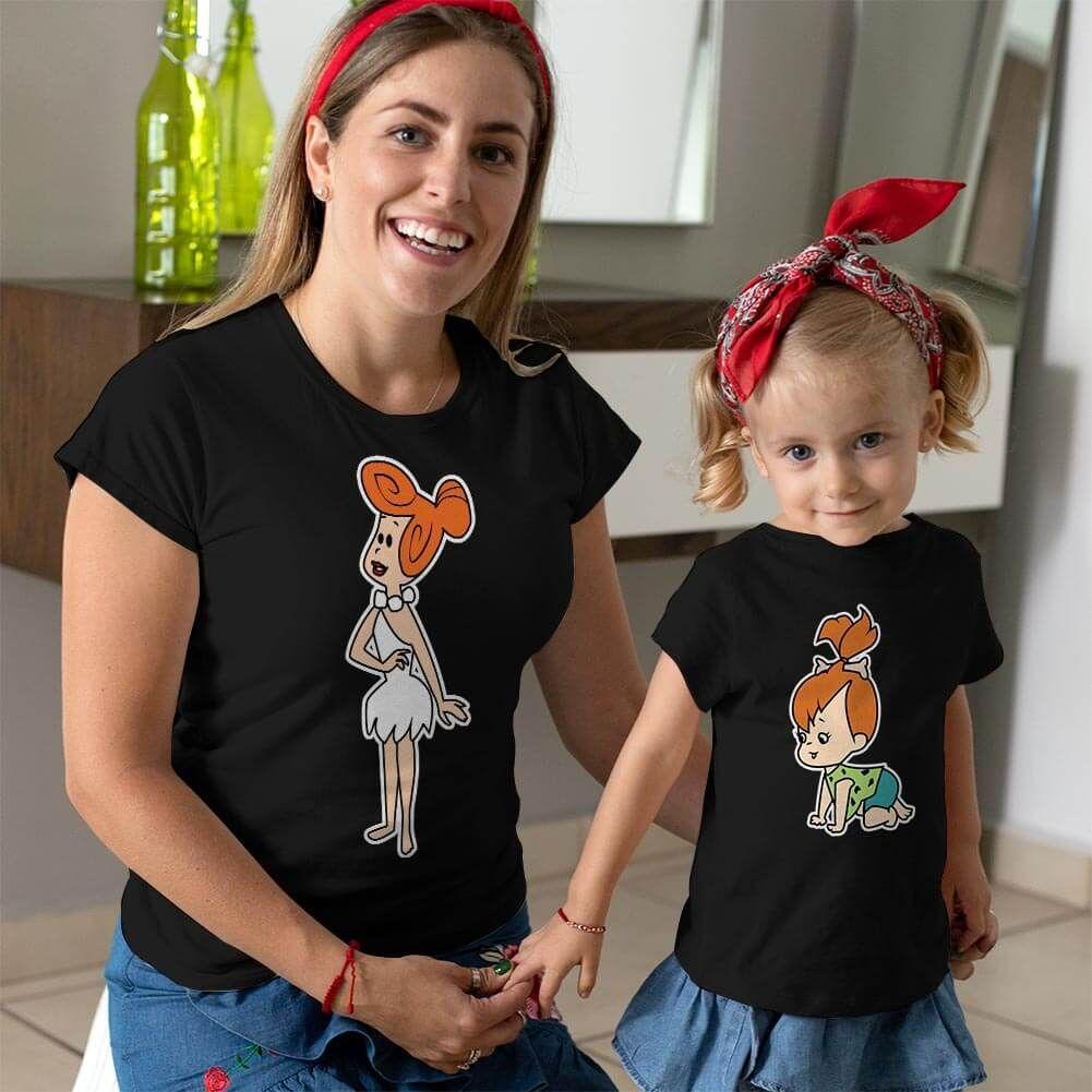 Çakmaktaş Ailesi Anne Kız Çocuk Kombini