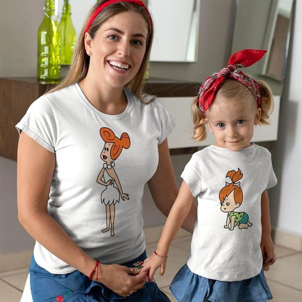 Çakmaktaş Ailesi Anne Kız Çocuk Kombini (1)