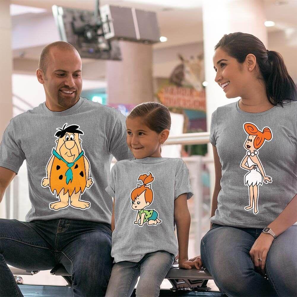 Çakmaktaş Ailesi Anne Baba ve Kız Çocuk Kombini