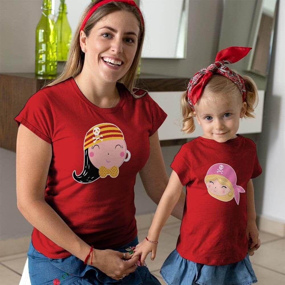 Korsan Anne Kız Çocuk Kombini