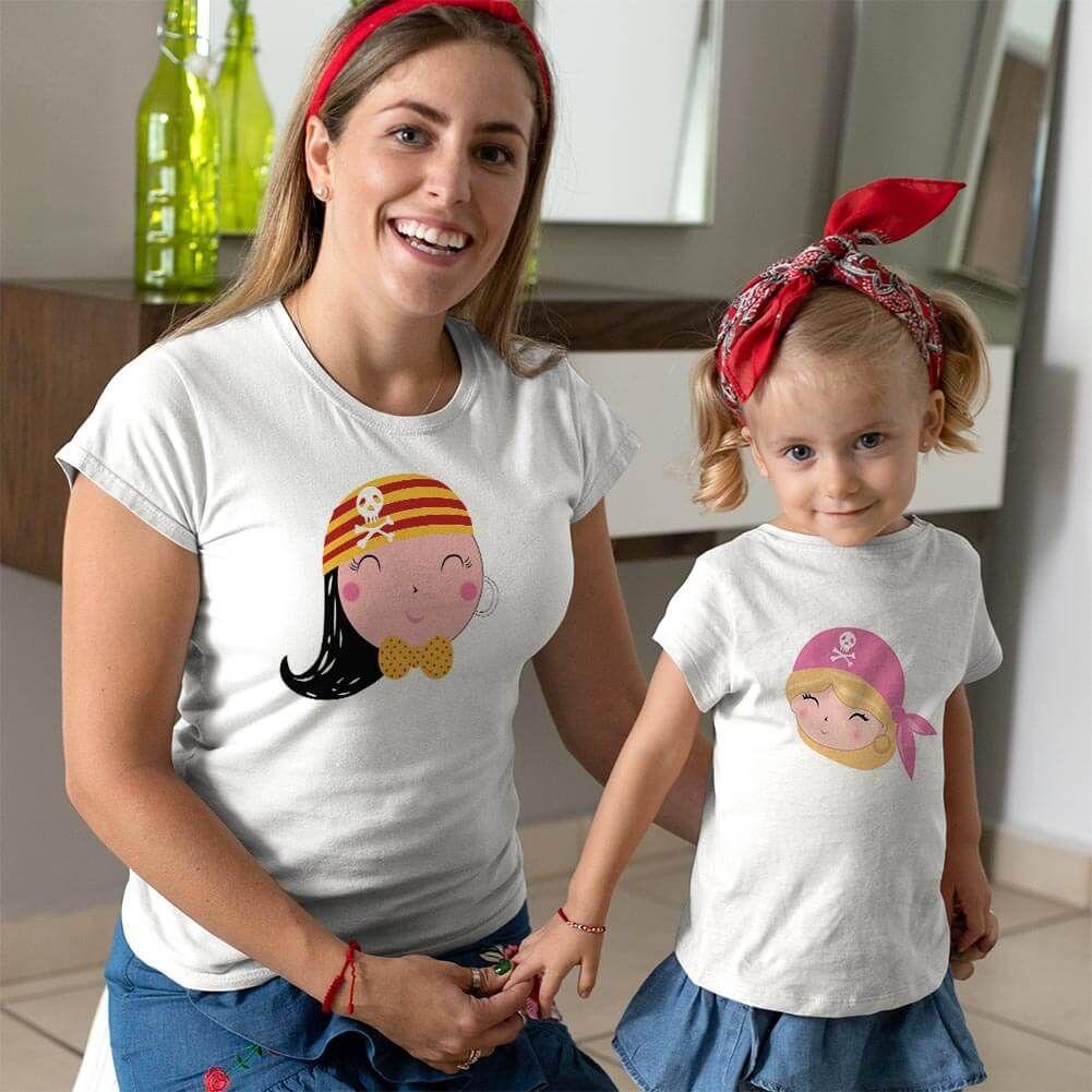 Korsan Anne Kız Çocuk Kombini (1)