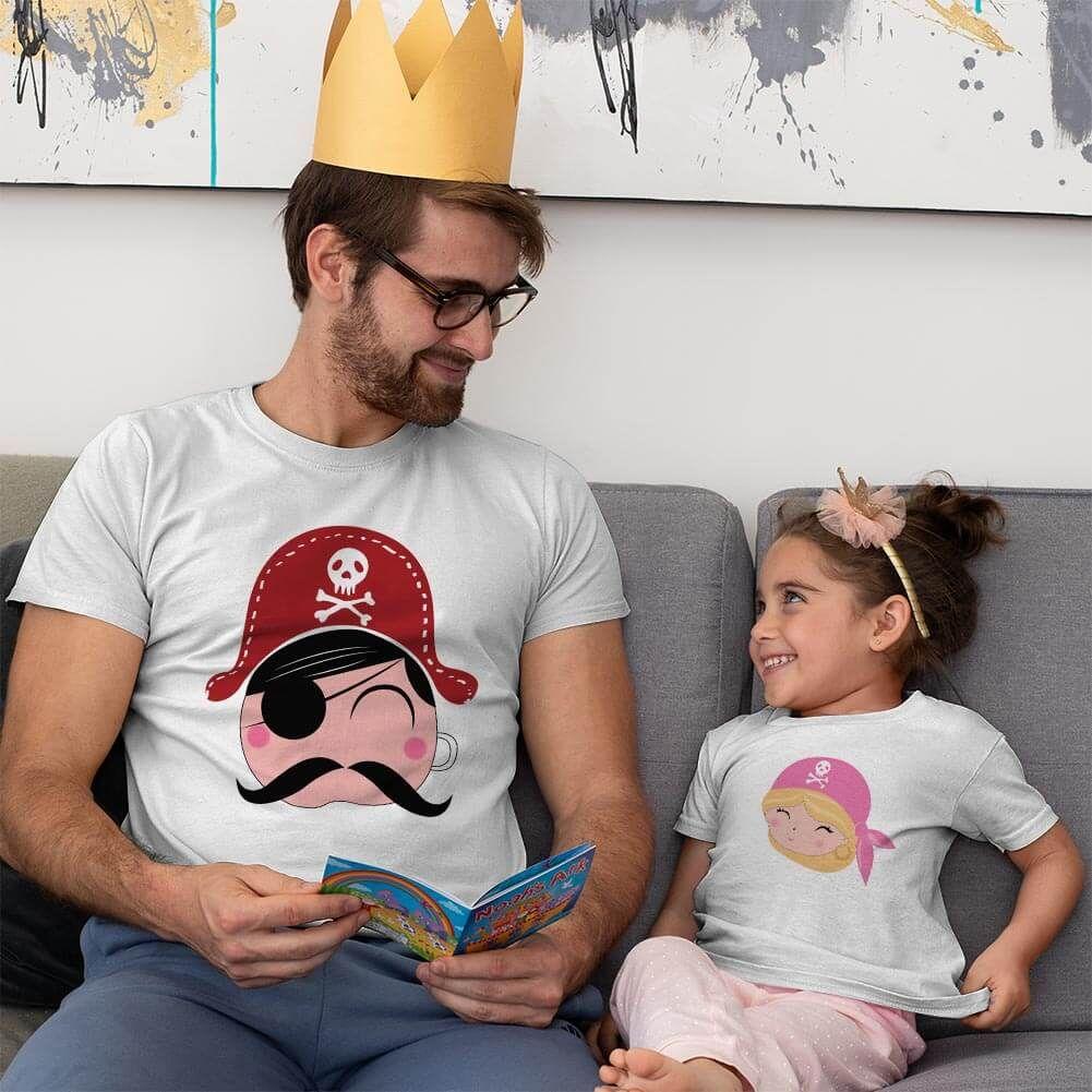 Korsan Baba Kız Çocuk Kombini