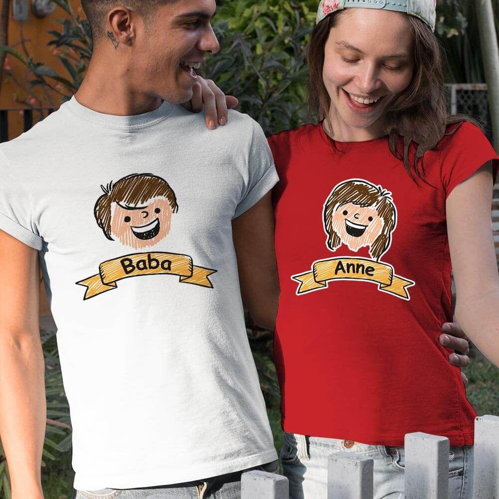 Aile Temalı Sevgili Tişört Kombini