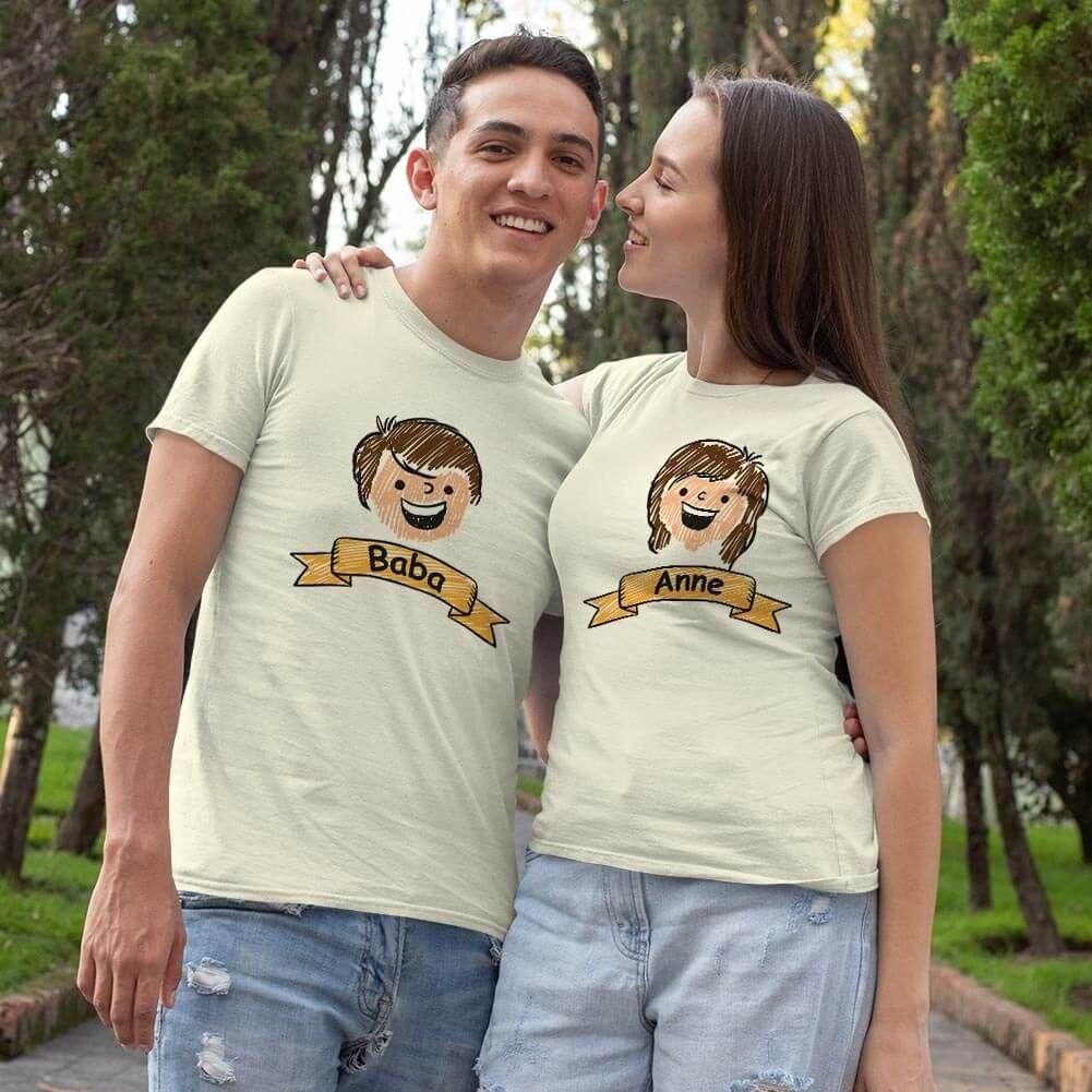 Aile Temalı Sevgili Tişört Kombini (1)