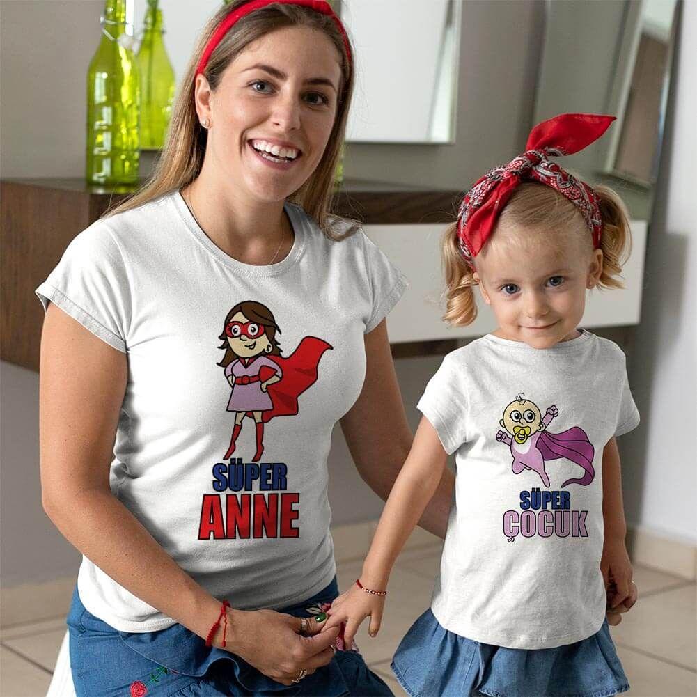 Süper Anne ve Kız Çocuk Kombini (1)