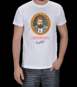 """BUDUR GİYİM - """"Abdülhamidi anlamak herşeyi anlamak olacaktır"""" Erkek Tişört"""