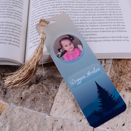 Tisho - Ağaç Detaylı Kitap Ayracı