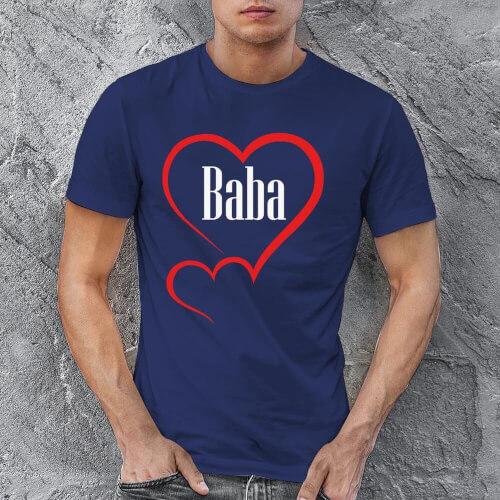 Aile Sevgisi Erkek Kısa Kol Tişört - Tekli Kombin - Thumbnail