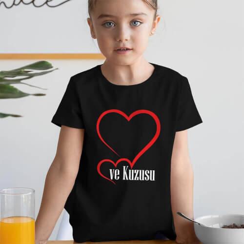 Tisho - Ailenin Kuzusu Kız Çocuk Kısa Kol Tişört - Tekli Kombin