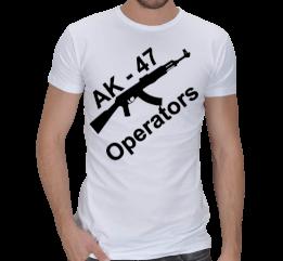Oyun Pazarı - AK Operators Erkek Tişört Erkek Spor Kesim