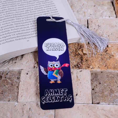 Tisho Dükkan - Akıllı Baykuş Kitap Ayracı