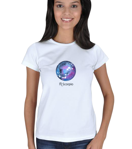 fulyanin - Akrep Kadın Tişört