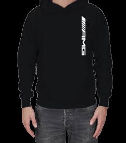 Dört Bijon - AMG Logolu Erkek Kapşonlu