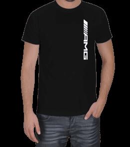 Dört Bijon - AMG Logolu Erkek Tişört
