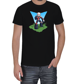 Geek-Shirt - Ant-Man 1 Siyah Erkek Tişört