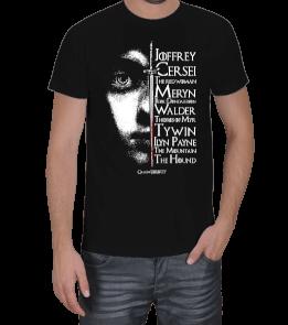 Tishogram - Arya Stark Erkek Tişört