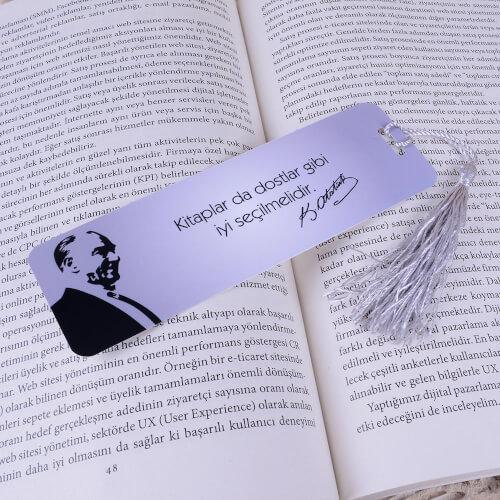 - Atatürk Kitap Ayracı