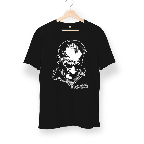 Tisho - Atatürk Silüetli Unisex Kısa Kol Tişört