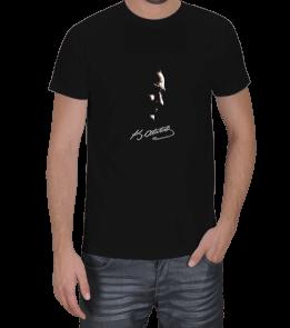 Ms Art Tasarım - ATATÜRK SİLÜYETİ Erkek Tişört