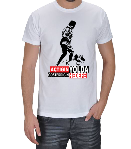 Baran Giyim - Atatürk T-shirt Erkek Tişört Erkek Tişört