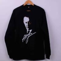 - Atsız İmzalı Kışlık Sweatshirt - L Beden, Siyah