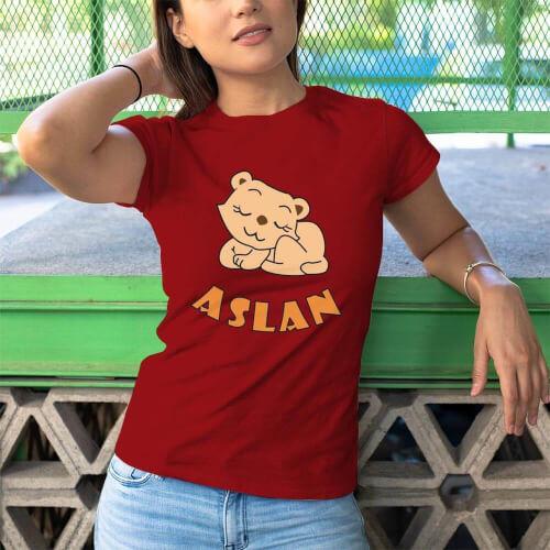 Tisho - Aslan Kadın Tişört - Tekli Kombin