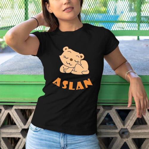Aslan Kadın Tişört - Tekli Kombin - Thumbnail