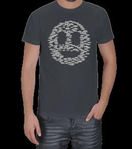 mabya - Balıklar ve Gülen Yüz Erkek Tişört