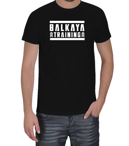 Gym Kedisi - Balkaya Training Erkek Tişört