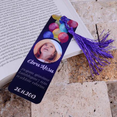 Tisho - Balon Detaylı Doğum Günü Kitap Ayracı