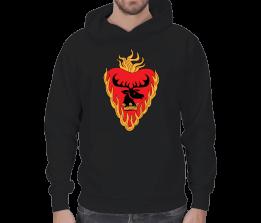 EG Store - Baratheon house t shirt Erkek Kapşonlu