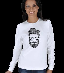 Sailing Store - Beard KADIN SWEATSHIRT