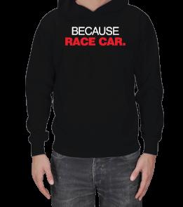 Dört Bijon - Because Race Car Erkek Kapşonlu