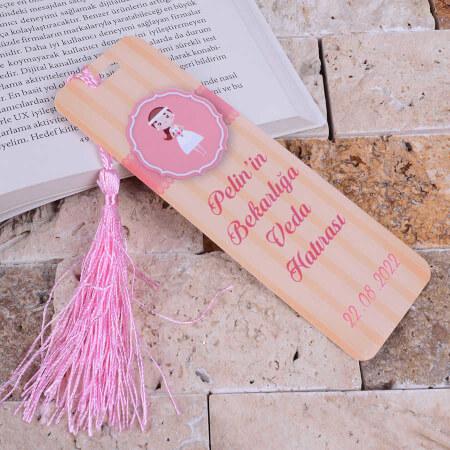 - Bekarlığa Veda Kitap Ayracı Hatırası