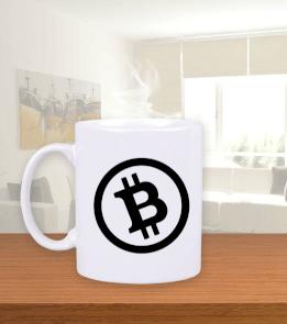 Deep - Bitcoin Beyaz Kupa Bardak