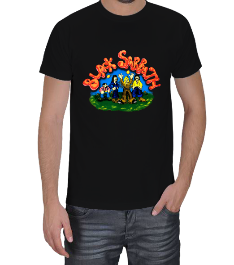 YARASA - Black Sabbath Erkek Tişört