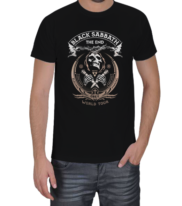 X SHIRT - BLACK SABBATH Erkek Tişört