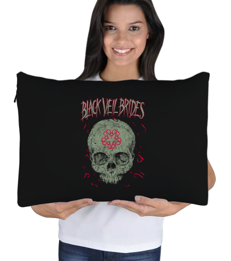 yastık1 - Black Veil Brides Uyku Yastık Kılıfı