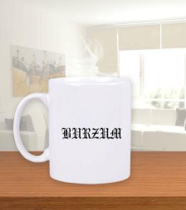 mk1500shop Aksesuar - Burzum Beyaz Kupa Bardak